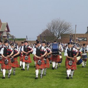 Image for 'Denny & Dunipace Pipes & Drums'