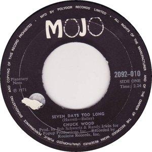 Bild für 'Seven Days Too Long / Soul Shing-A-Ling'