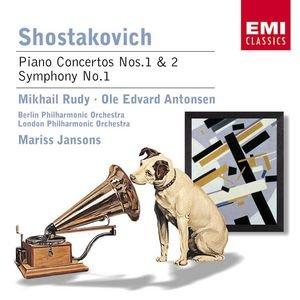 Image for 'Shostakovich : Concerto for Piano, Trumpet, Strings/Piano Concerto No.2/Symphony No.1'