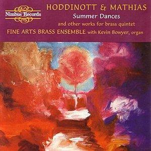 Image for 'Hiddinott & Mathias - Brass Music'