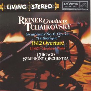 Image pour 'Reiner Conducts Tchaikovsky'