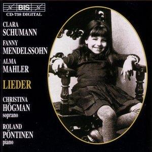Image for 'SCHUMANN, C. / MENDELSSOHN-HENSEL / MAHLER, A.: Lieder'