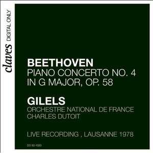 Image for 'Emil Gilels - Beethoven 4'