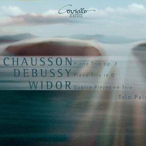 Image for 'Chausson: Piano Trio, Op. 3 - Debussy: Piano Trio in G - Widor: Quatre Pièces en Trio'