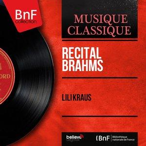 Image for 'Récital Brahms (Mono Version)'