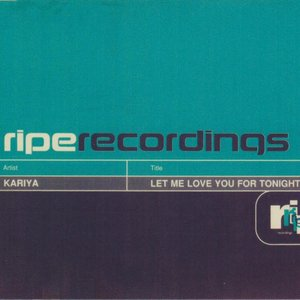 Image for 'Let Me Love You for Tonight (feat. Todd Terry v The Commission) [The Commission]'