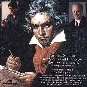 Image for 'Favorite Sonatas by Beethoven Spring & Kreutzer'