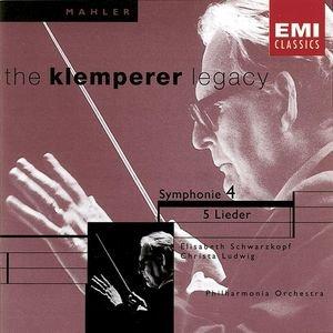 Bild för 'Mahler - Symphony No. 4/Lieder'