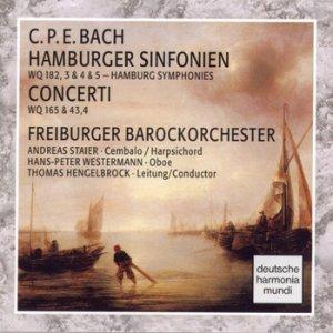 Image for 'C.P.E. Bach: Hamburger Sinfonien/Concerti'