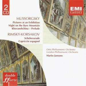 Image for 'Mussorgsky:Pictures at an Exhibition etc/Rimsky-Korsakov:Scheherazade etc'