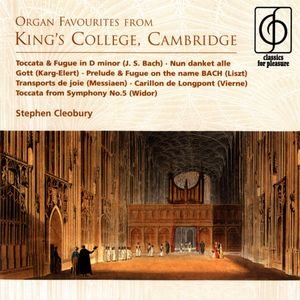 Image pour 'Organ Favourites from King's College, Cambridge'