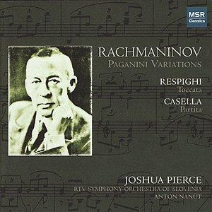Image for 'Rachmaninov: Paganini Variations - Respighi: Toccata - Casella: Partita'