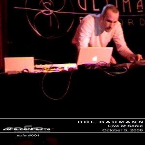 Bild für 'Live at Sonic: Oct.05.2006'