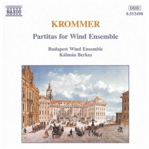 Bild für 'KROMMER: Partitas for Wind Ensemble Opp. 57, 71 and 78'