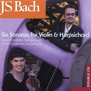 Image for 'JS Bach - Six Sonatas For Violin And Harpsichord'