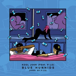 Image for 'Blue Hunnids (feat. P-Lo) - Single'