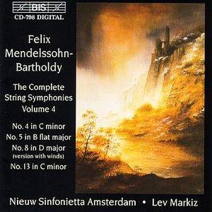 Image for 'MENDELSSOHN: The Complete String Symphonies, Vol. 4'