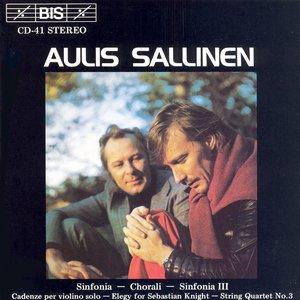Bild för 'Sallinen: Sinfonia / Chorali / String Quartet'