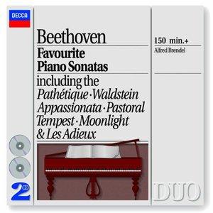 Image pour 'Beethoven: Favourite Piano Sonatas'