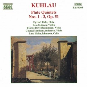 Bild für 'KUHLAU: Flute Quintets Op. 51, Nos. 1- 3'