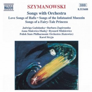 Image for 'SZYMANOWSKI: Songs with Orchestra'