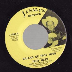 Bild für 'Ballad Of Troy Hess / Blue Yodel #9'