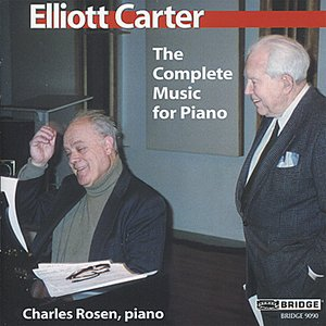 Image for 'Carter: The Complete Music for Piano'