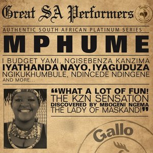 Image for 'Great South African Performers - Mpume'