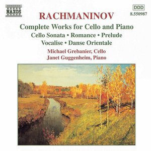 Image for 'RACHMANINOV: Works for Cello and Piano (Complete)'