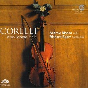 Image for 'Violin Sonatas, Op. 5 (violin: Andrew Manze, harpsichord: Richard Egarr) (disc 2)'