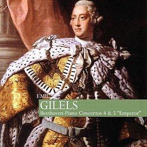 """Image for 'Gilels: Beethoven - Piano Concertos 4 & 5 """"Emperor""""'"""
