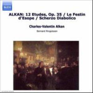Imagem de 'ALKAN: 12 Etudes, Op. 35 / Scherzo diabolico, Op. 39, No. 3'