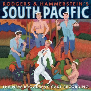 """South Pacific (The New Broadway Cast Recording)""的封面"