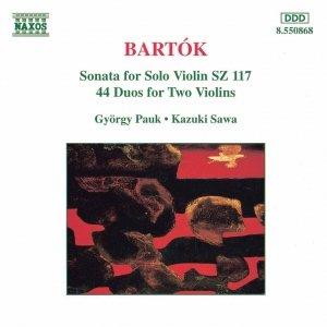 Image for 'BARTOK: Violin Sonata, Sz. 117 / 44 Violin Duos, Sz. 98'