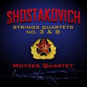 Image for 'Shostakovich: Strings Quartets No. 3 and 8'