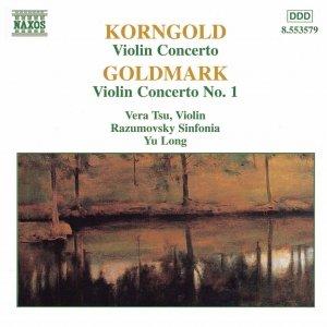 Imagem de 'KORNGOLD / GOLDMARK: Violin Concertos'