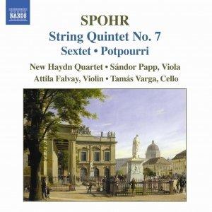 Image for 'SPOHR: String Quintet No. 7 / String Sextet, Op. 140 / Potpourri'