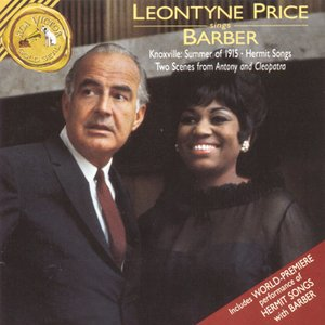 Image pour 'Leontyne Price Sings Barber'