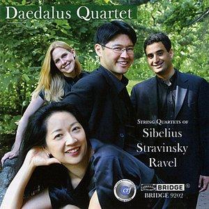 Image for 'String Quartets of Sibelius, Stravinsky and Ravel'