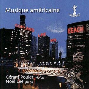 Image for 'Musique Américaine - Copland, Lee, Ives, Beach'