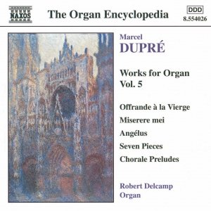 Image for 'DUPRE: Works for Organ, Vol.  5'