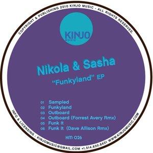 "Image for 'Nikola & Sasha - ""Funkyland"" EP'"