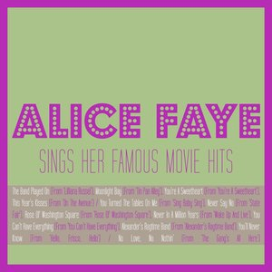 Image pour 'Alice Faye Sings Her Famous Movie Hits'