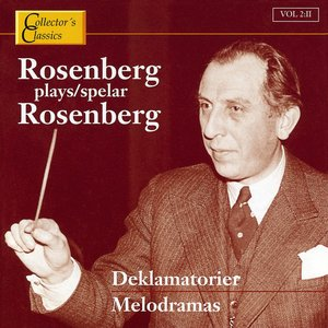 Image pour 'Rosenberg Plays Rosenberg (Melodramas)'