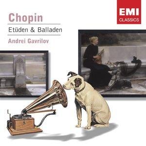 Image for 'Chopin: Etudes; Ballades Nos. 1 & 2'