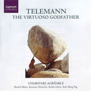 Image for 'Telemann: The Virtuoso Godfather'