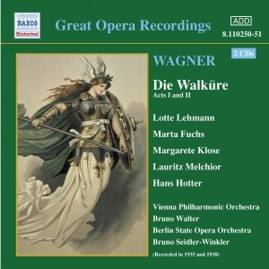 Image for 'WAGNER, R.: Die Walküre, Acts I and II (Bruno Walter) (1938)'