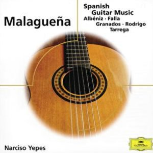 """Malaguena - Spanish Guitar Music""的封面"