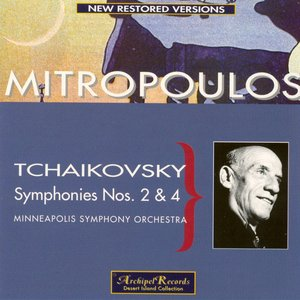 Image for 'Tchaikovsky : Symphonies Nos.2 & 4'