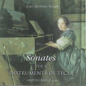Image for 'Pare Antoni Soler Sonatas For Keyboard Vol. 3'